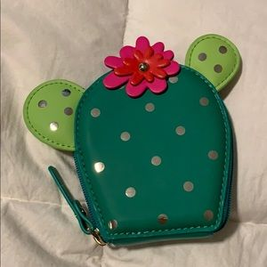 Cactus coin purse hold for bagforit